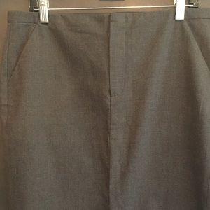 Gap Menswear Grey Skirt